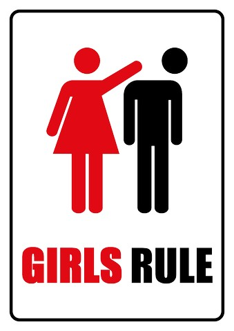 girls-rule-sign-template